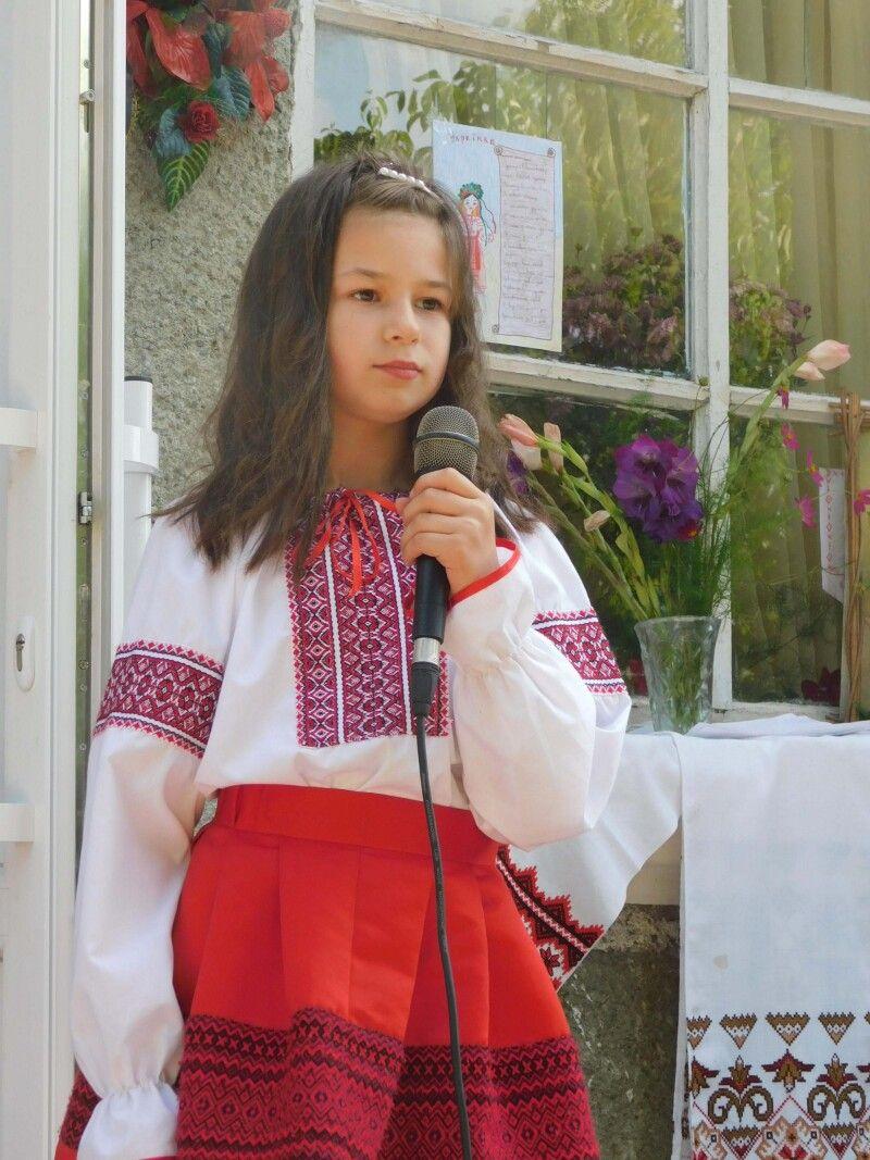 Юна  Галинка Ткачук. Фото Лесі ВЛАШИНЕЦЬ.