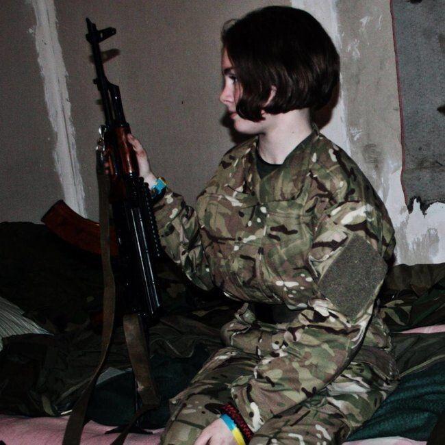 Після війни дівчина хотіла б бути гірським провідником у Карпатах чи жити десь біля гір.