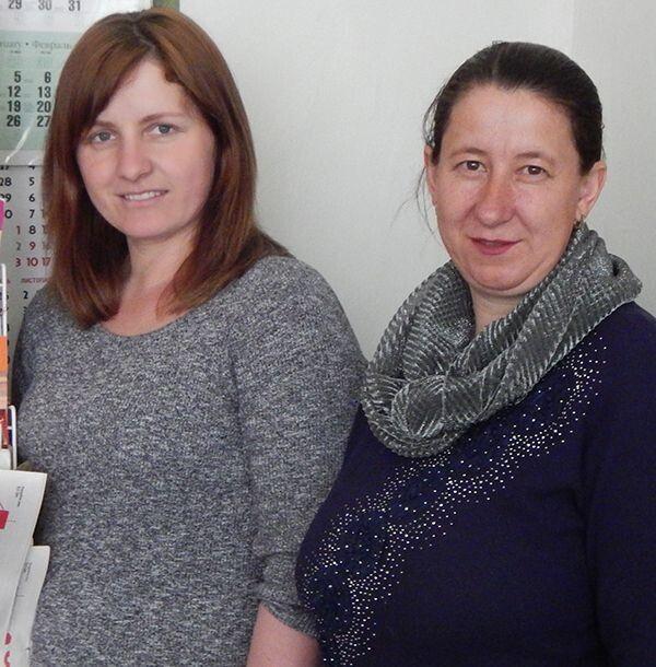 Людмила Беренюк і Наталія Хитра: «Стараємося, щоб люди були задоволені!».