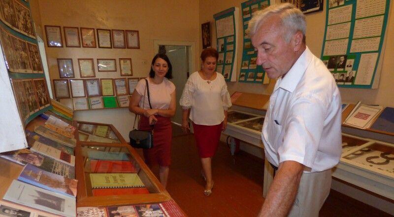 Музей історії села – гордість колишнього директора.