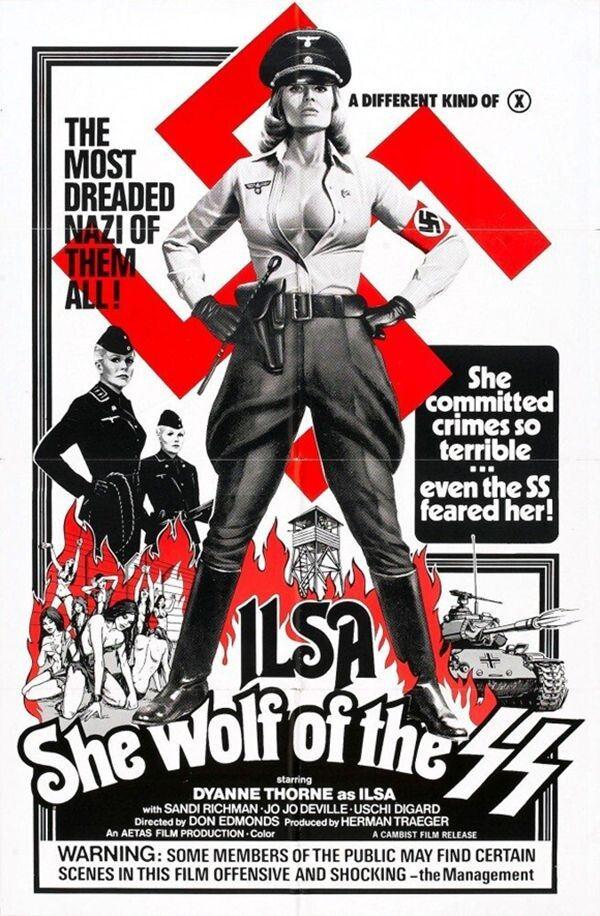 Про звірства Дияволиці з Бухенвальда було знято фільм «Ільза-вовчиця СС» (1975 р.)