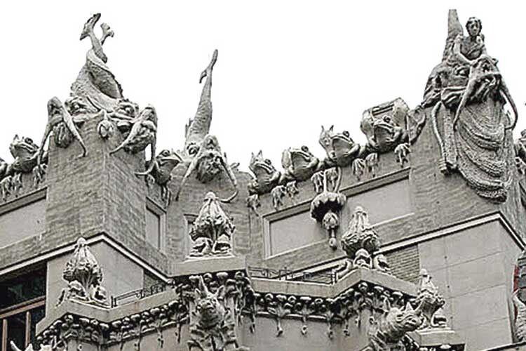 «Звіринець»— фрагмент фасаду— ідосі викликає захоплення.