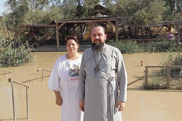 Місцевість Віфара на кордоні Палестини і Йорданії, де Ісус прийняв хрещення.