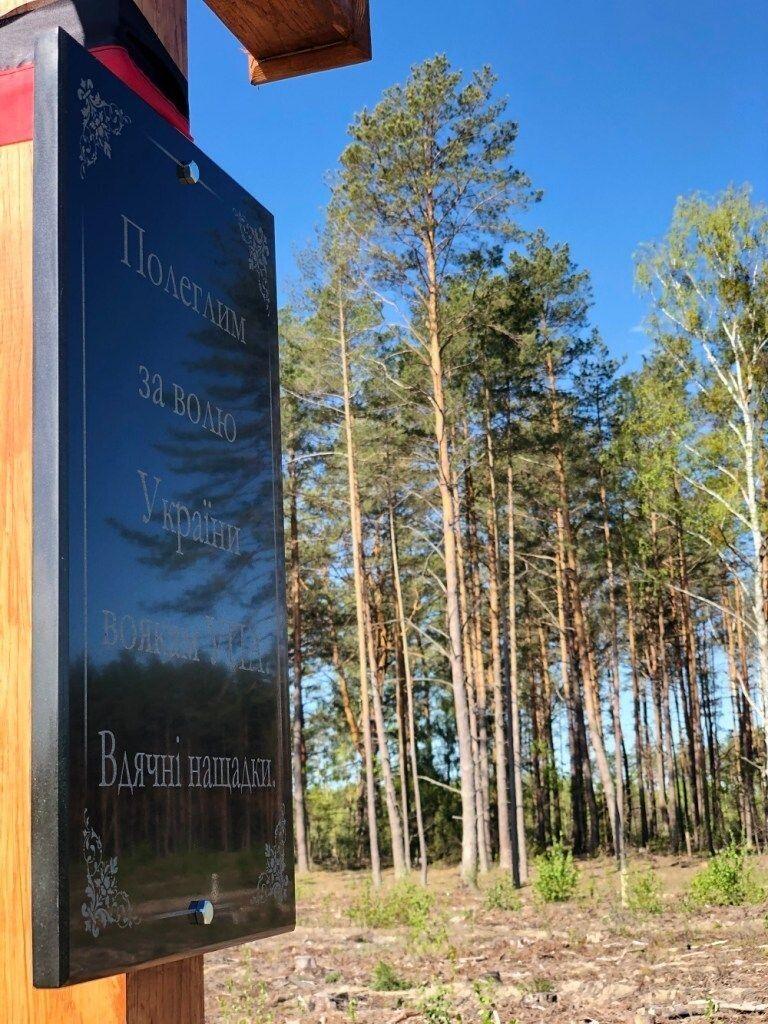 Волинські лісівники не тільки плекають ліс, а й бережуть пам'ять...