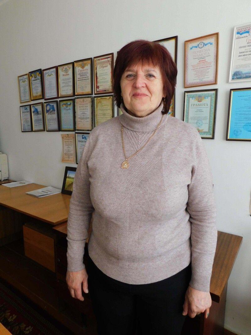 У голови районної профспілкової організації працівників АПК Галина Дзецько – море планів!