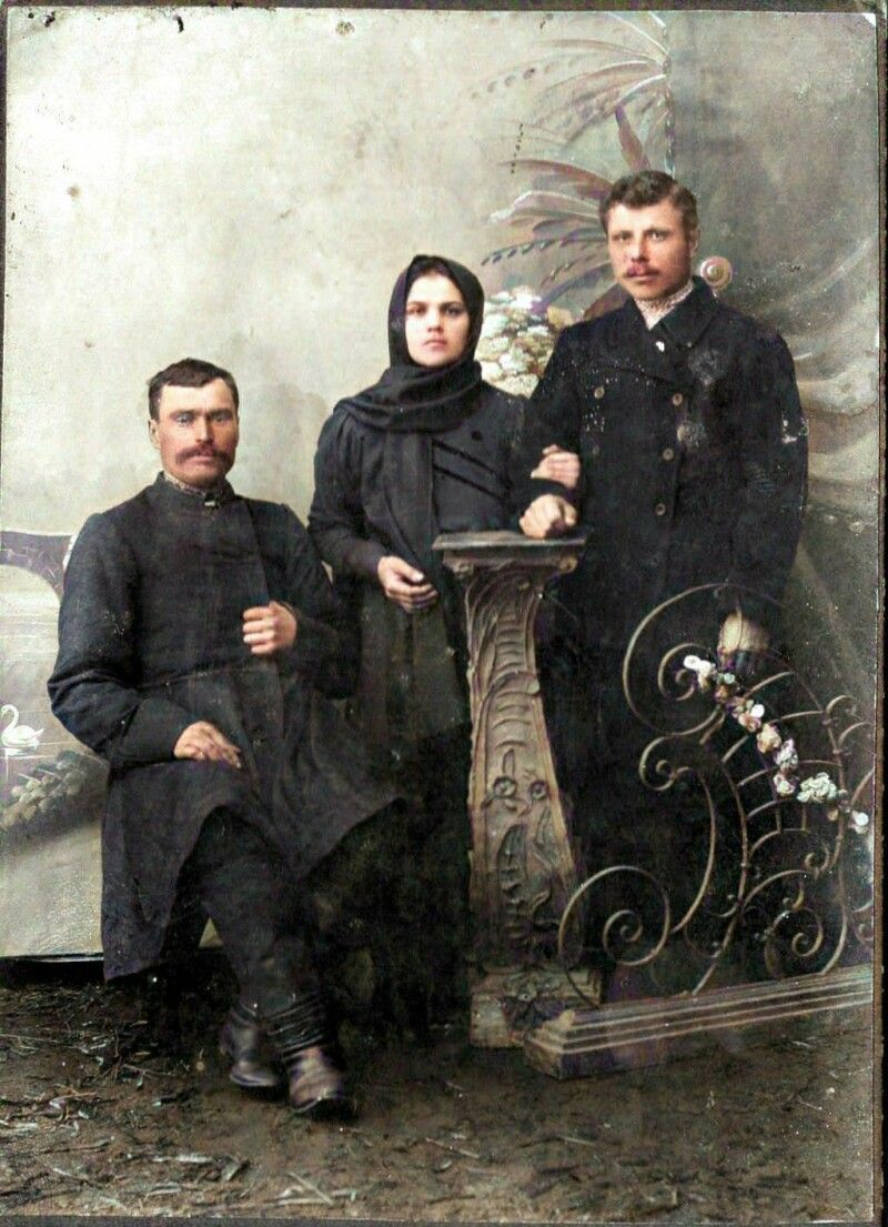 Жителі м. Любомль. Фото 1900-1914 рр.