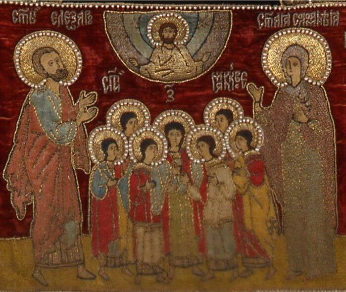 Сім святих мучеників Макавеїв. Фото із сайту uk.wikipedia.org.