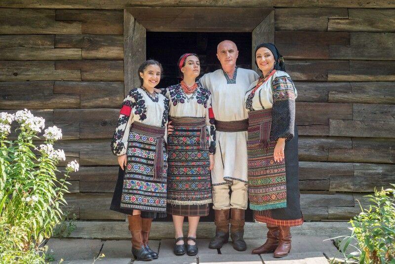 «Наша Соломія народилася в США, а Меланія – у Грузії». Фото з родинного архіву Климпушів-Цинцадзе.