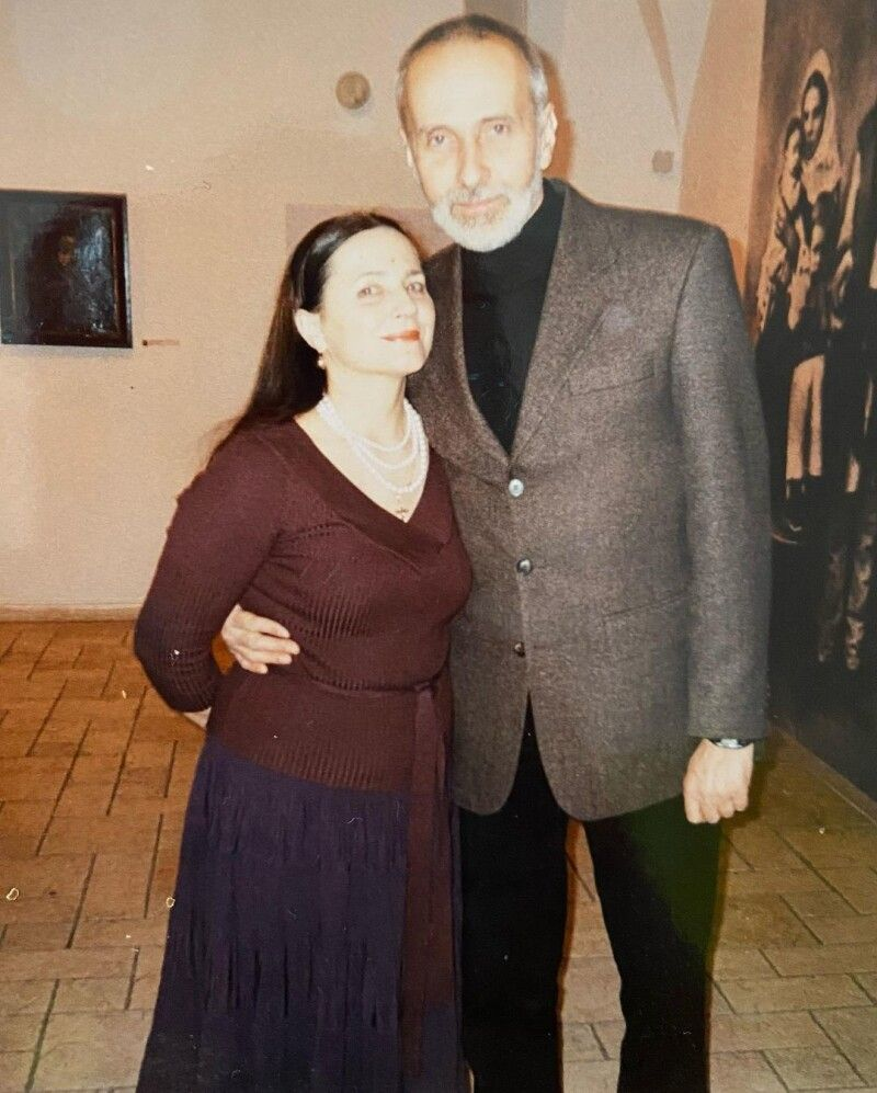 Батьки Івана Гончара.