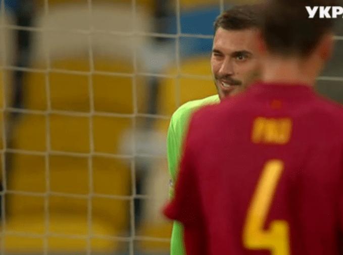 Тепер про воротаря Бущана знають і в Іспанії. Фото ТРК «Україна».