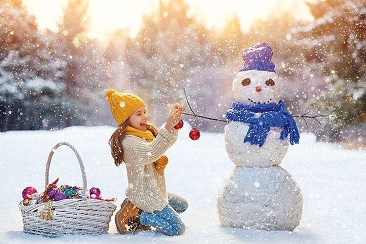 «І називатиме маму й доню «щастям, знайденим у снігах».