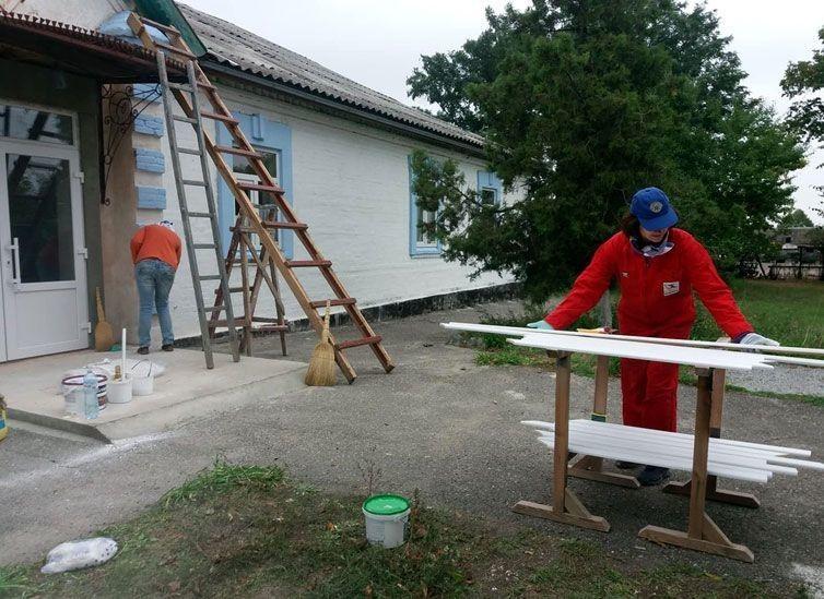 Усі ремонтні роботи у «Затишній оселі» виконували волонтери.