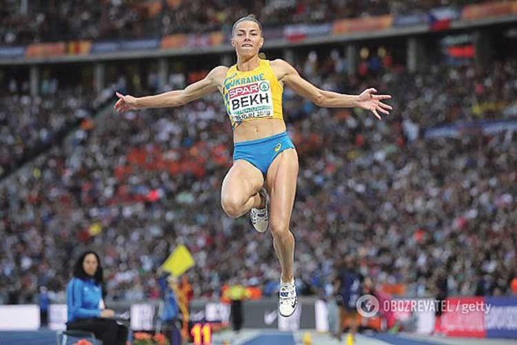 Легкоатлетка Марина Бех — віце-чемпіонка Європи зі стрибків у довжину.
