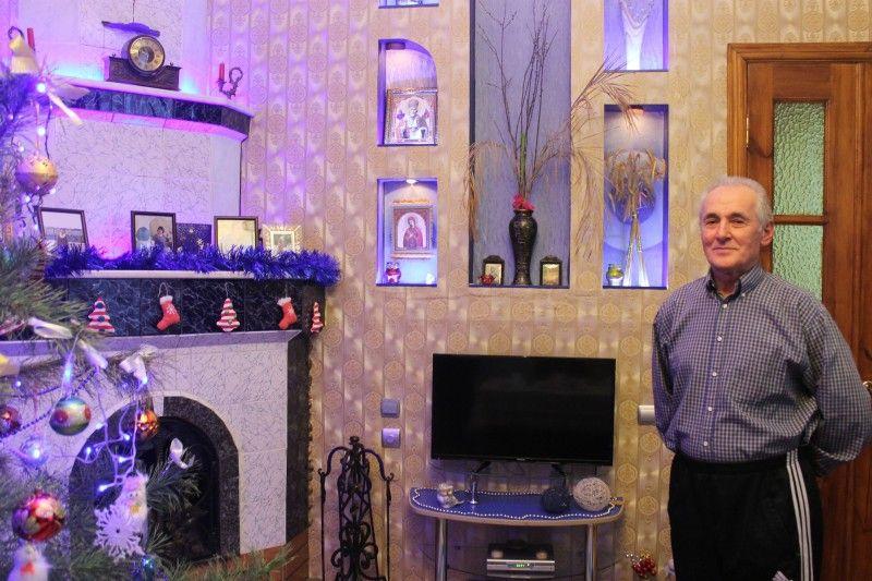 Все у домі Калюхів виготовлене руками чоловіка -умільця.