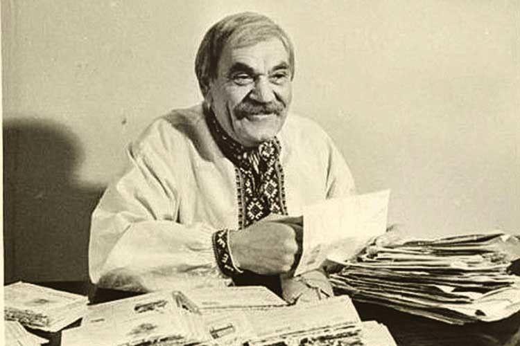 Таким запам'ятався Петро Вескляров не одному поколінню глядачів.