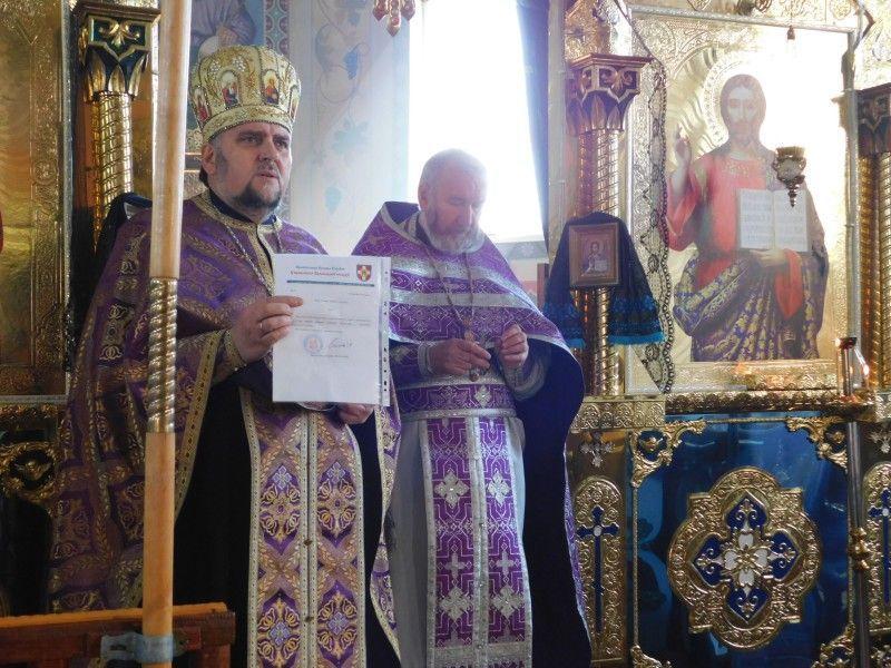 Священик зберіг громаду єдиною, як добрий вітець береже родину. Фото Лесі ВЛАШИНЕЦЬ.
