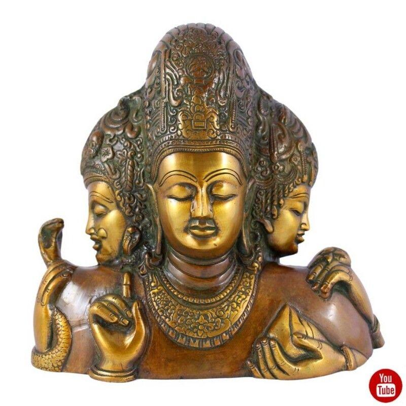 Головні боги індуїстського пантеону: Брахма-Творець, Вішна-Охоронець і Шива-руйнівник.  Фото ganga.com.ua.