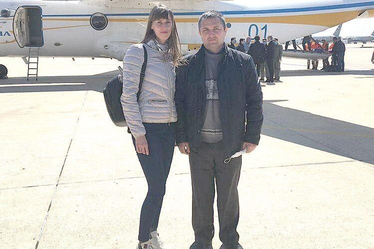 Софія Черниш і Андрій Власюк.