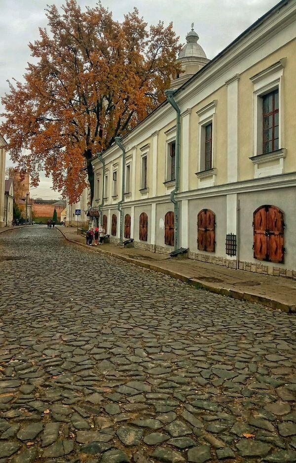 Будинок, де проживала родина Косачів в Луцьку.