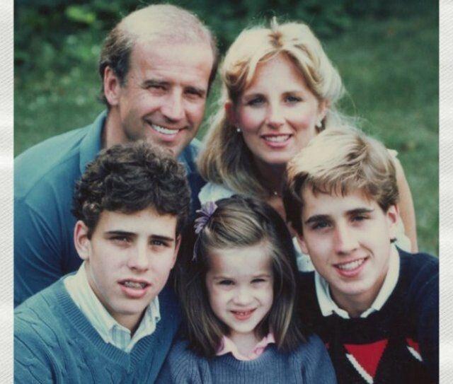 Незважаючи на давні президентські амбіції, Байден завжди казав: сім'я – на першому місці.