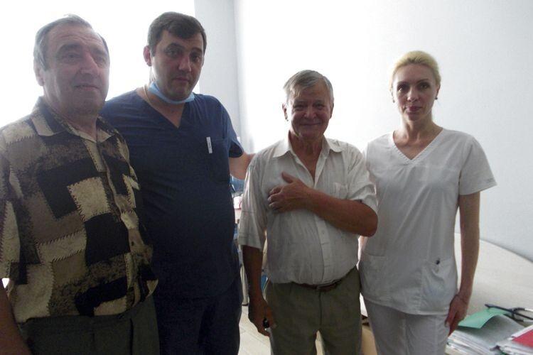 І волинянин Микола Мартинюк, і рівнянин Ярослав Тимощук  дякують Богу, що послав їм таких чудових лікарів як Володимир  та Ольга Танські.