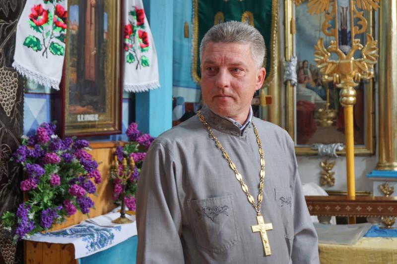 Отець Ігор Цилюрик: «На жаль, ніхто з жителів не знає подробиць цієї історії».