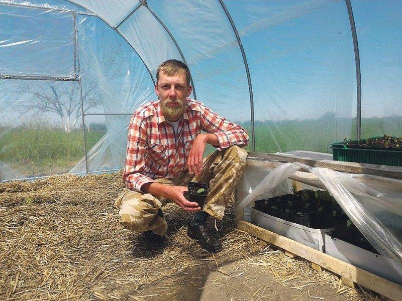 Подарунок садівник збирається використовувати для вирощування  не лише овочів, а й живців голубої ялини.