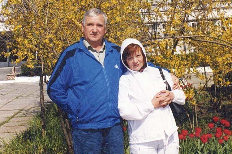 «У шлюбі ми прожили 39 літ». Фото зроблене за 5 років до того, як чоловіка не стало.