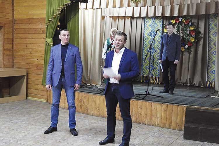Юрій Гупало щиро бажає своїм землякам розвитку і процвітання.