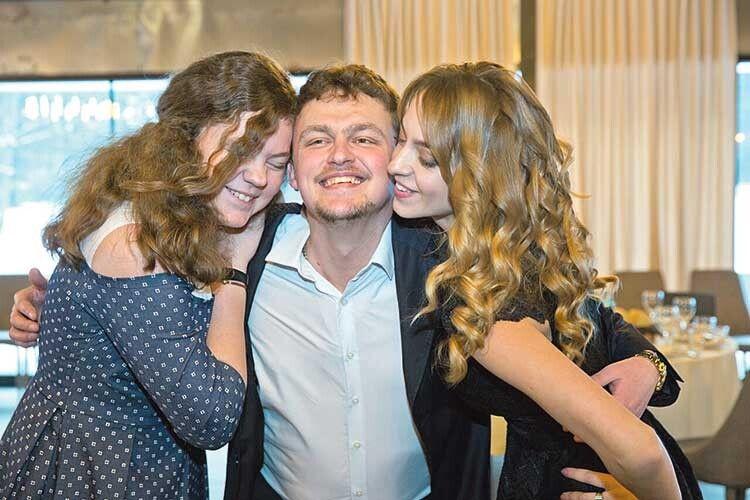 Діти отця Олександра та матушки Ірини — Єва, Василь, Катя.
