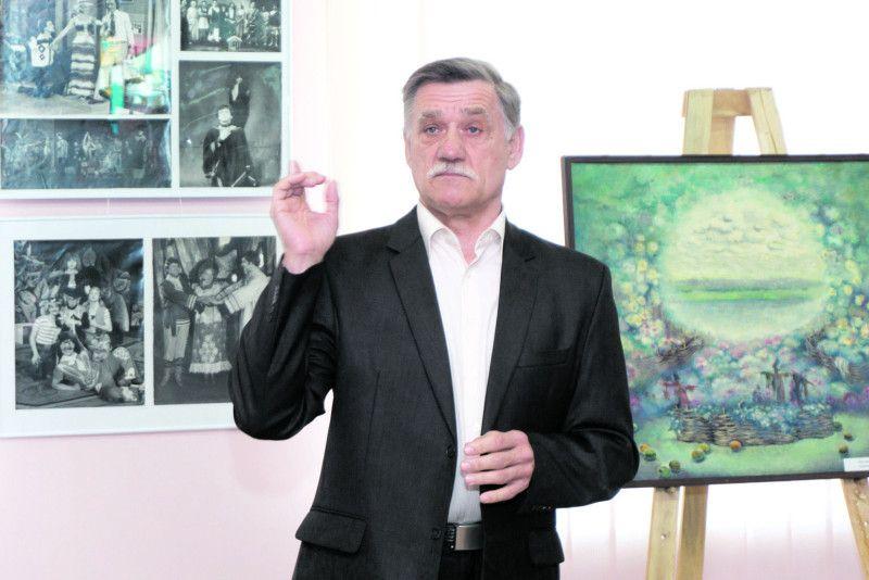 Народний артист України Олександр Якимчук був серед тих друзів і колег, які ділилися теплими спогадами про художницю Лесю Каспрук.