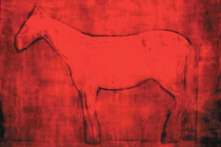 «Кінь. Вечір» продана за 186,2 тис. доларів. Про червоний колір Криволап каже, що той може бути веселим, трагічним, сьогоденним, може заглядати у майбутнє і на тисячу років.