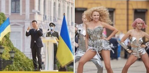 «Шльопали ушльопки по Софіївській площі».