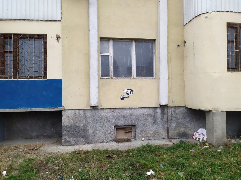 Ось така робота з'явилася в Луцьку...