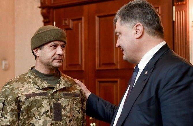 Зустріч з Президентом Петром Порошенком після 124 днів полону.