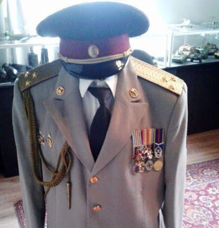 Форма полковника ЗСУ Пюрка поповнила фонди музею.