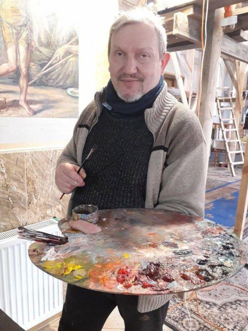 «Це – мій кисень», – казав про свою роботу художник-іконописець.