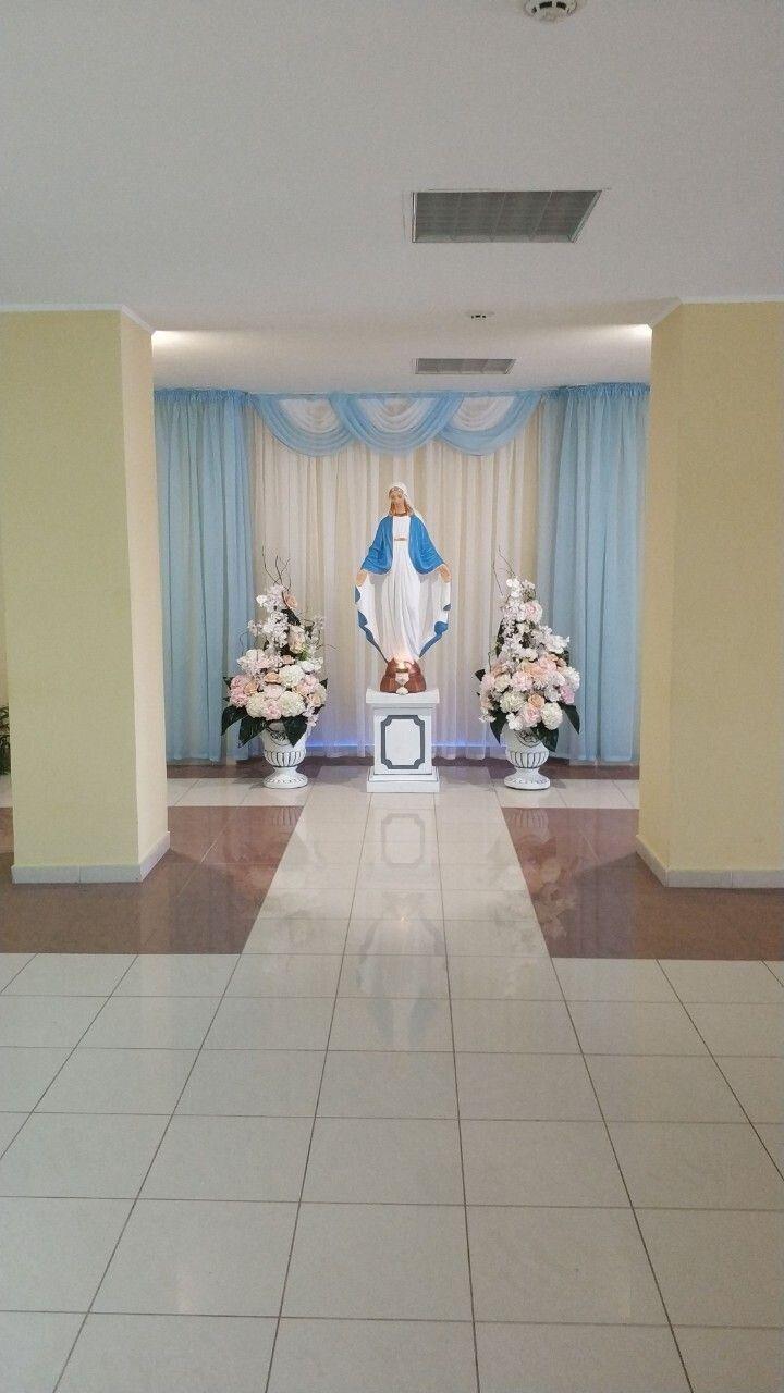 Скульптура Богоматері на новій копальні. Фото Григорія БАРА.