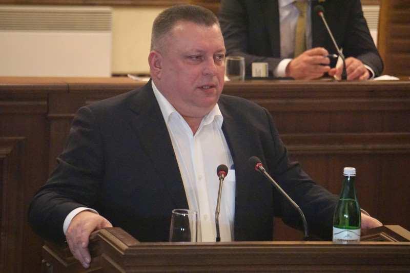 Головний фінансист обласної адміністрації Ігор Никитюк.