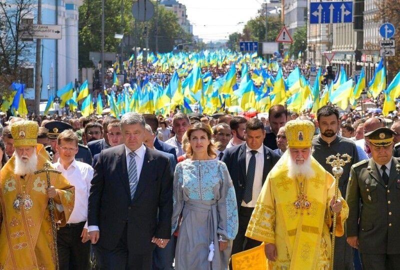 28 липня 2018 року Хресна Хода на День Хрещення Русі-України та молитва за єдину помісну Православну Церкву України.