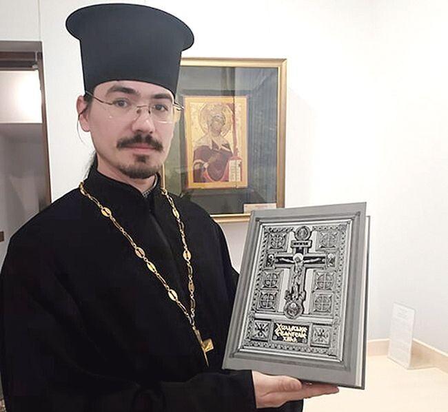 З 2011 року отець Артем служить у соборі Холмської Богоматері міста Луцька.