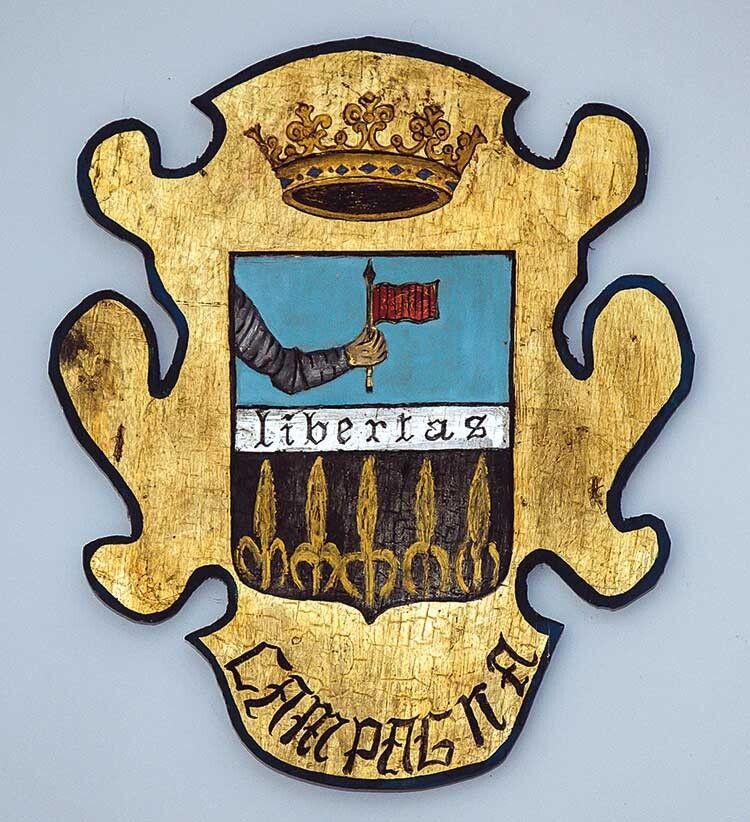 Герб родини Кампанья.