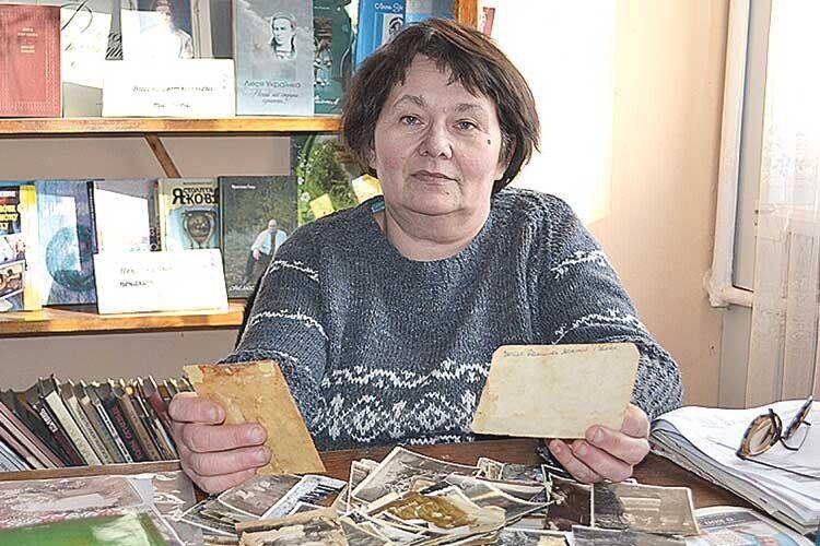 Ганна Лемешко багато знає про минуле рідного краю.
