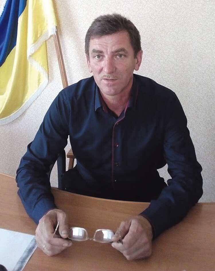 Голова Щуринської сільради Василь Карпюк жалкує, що працездатне населення  мусить працювати за кордоном.