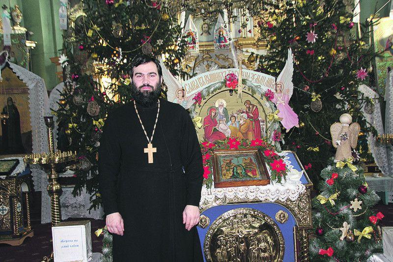 Отець Павло Шматюк –  сучасний хранитель древньої святині.