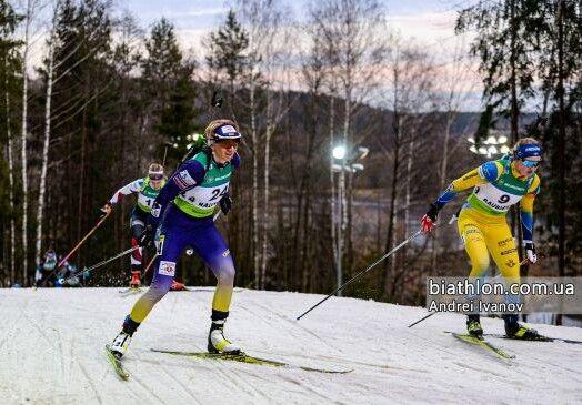 Про цю боротьбу Олени проти Ханни ще будуть довго говорити... Фото biathlon.com.ua.