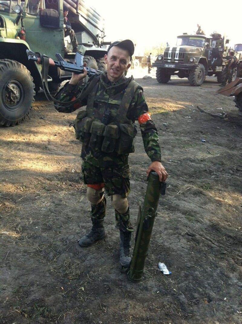 Ігор Філіпчук на фронті.