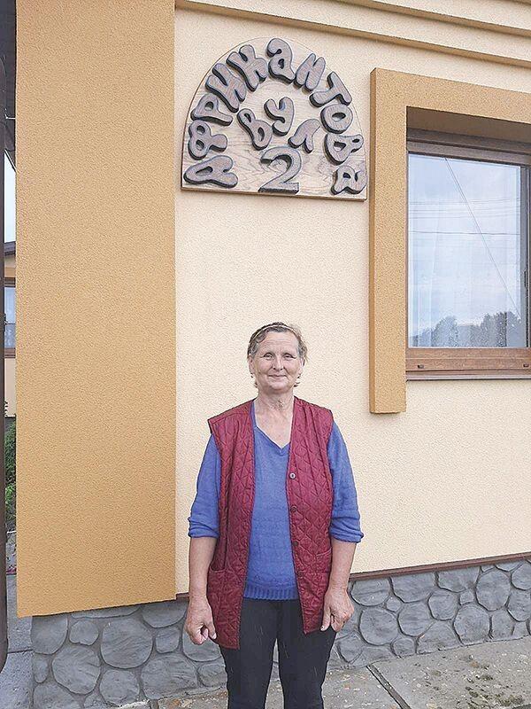 Тамара Гловацька пригадала,  як учні листувалися  з родиною визволителя.