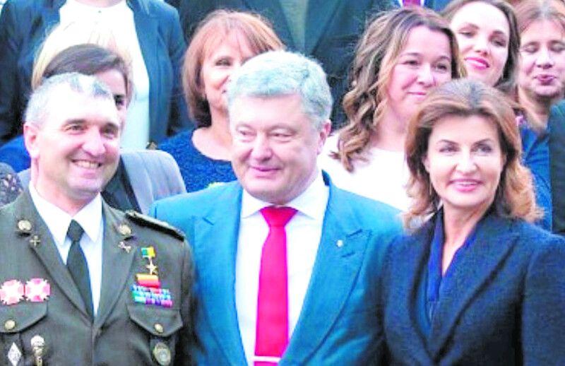 Попередній День вчителя пані Тетяна святкувала з Президентом.