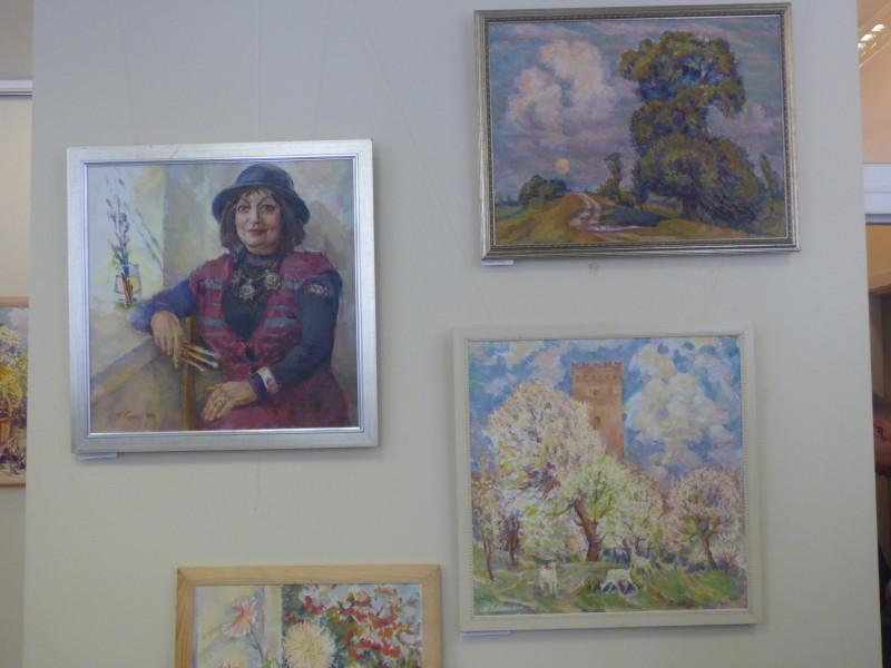 Серед натюрмортів і пейзажів - автопортрет.